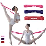 JJunLiM Banda elástica de látex para ballet, para una flexibilidad total, para...
