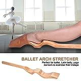 Camilla de Ballet, Realzador de Arco de Estiramiento de Pie de Danza de Ballet...