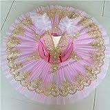 JIANMIN Disfraz de ballet profesional para niñas, disfraz de ballet clásico,...