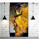YaShengZhuangShi Pintura sobre Lienzo Pintado Retrato Abstracto Bailarina de...
