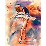 Puzzle de 1000 Piezas Para Adultos Rompecabezas de Madera Bailarina de ballet...