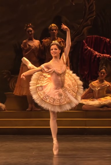 vestido bailarina ballet