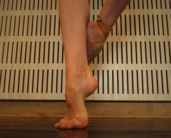 pies de bailarina ballet