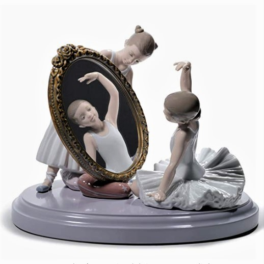 Bailarinas en porcelana
