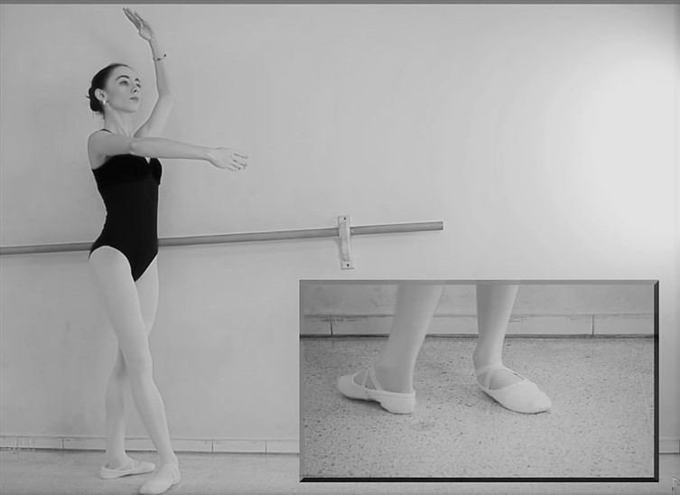 posiciones de ballet pies