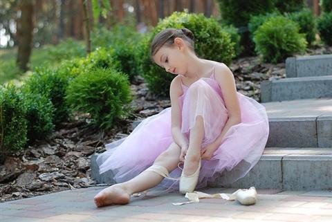 ropa de danza clasica para niñas
