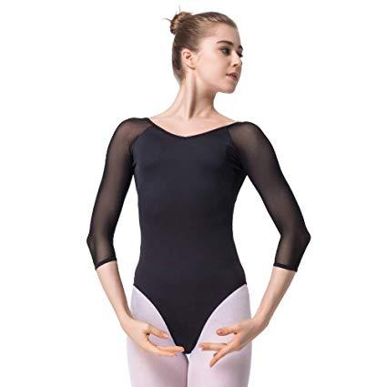 maillot ballet mujer