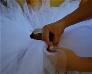 tutu de bailarina de ballet para niña