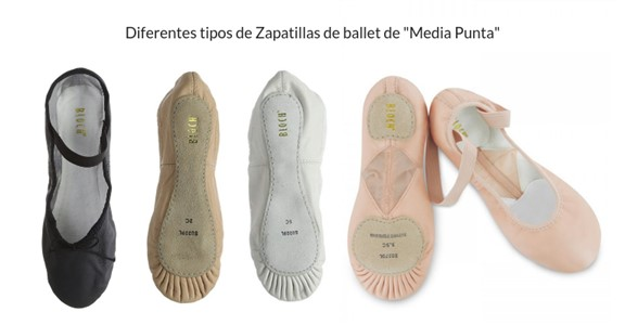 Medias puntas ballet