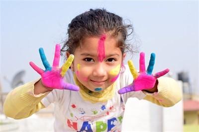 cuadros infantiles al oleo para niñas