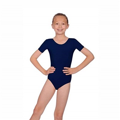 maillot ballet niña azul
