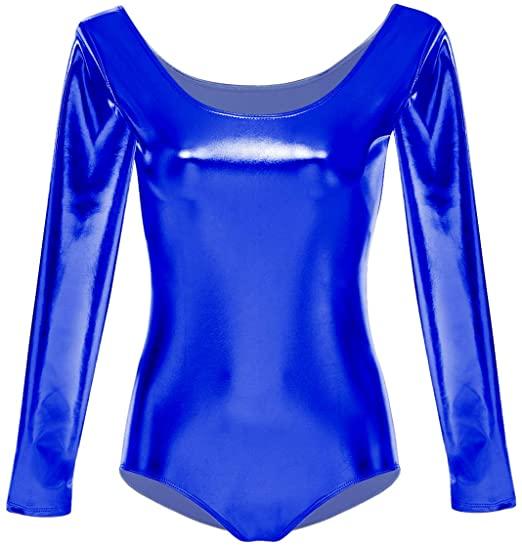 maillot niña azul electrico