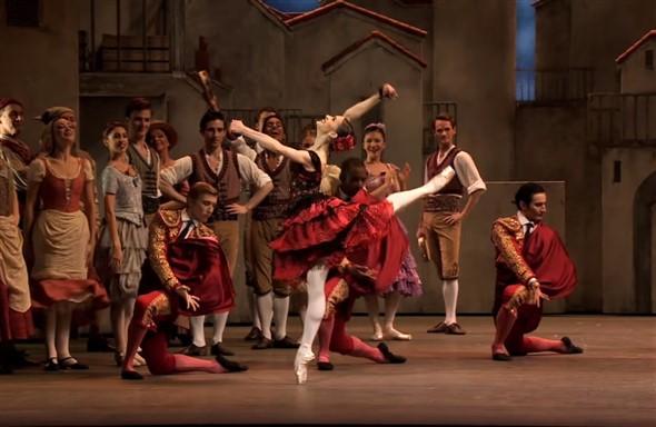 vestido de ballet nombre