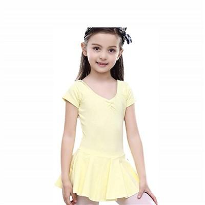 leotardos amarillos niña