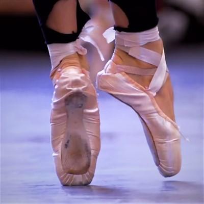 como usar puntas de ballet
