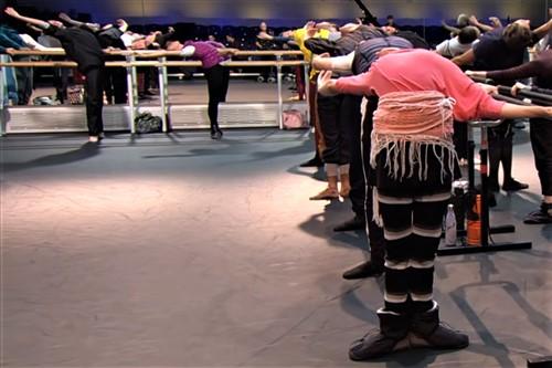botas calentadoras ballet