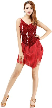 ropa baile latino mujer