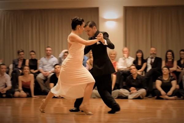 Vestido baile de salón