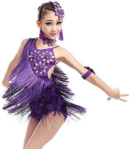 vestido baile latino
