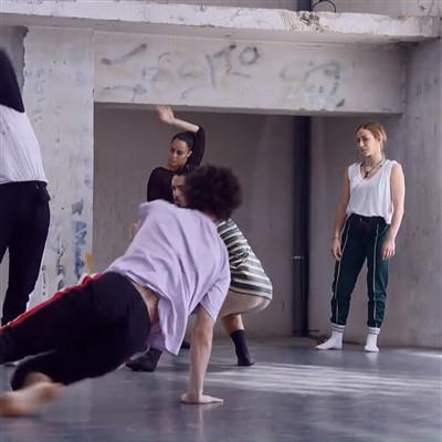 danza contemporanea vestuario hombre