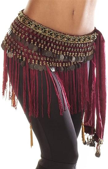 cinturon de monedas para danza arabe