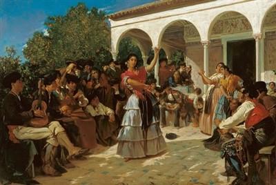 baile flamenco gitano