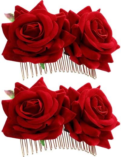 corona flores flamenca